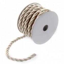 6mm Cord - Cream (6mm x 10m)