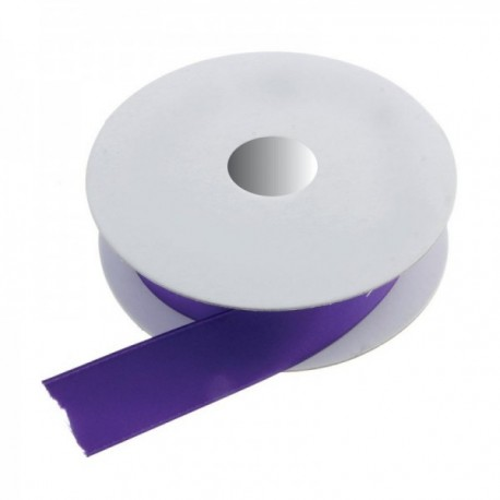 3mm Double Faced Satin - Purple (3mm x 50m)