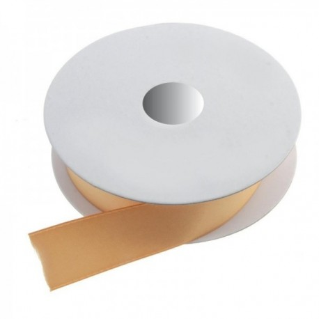 6mm Double Faced Satin - Gold (6mm x 20m)