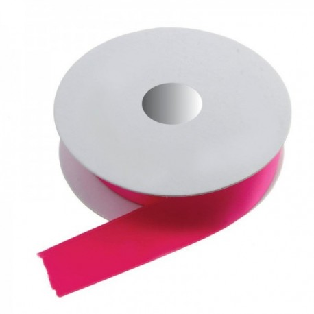 25mm Double Faced Satin - Fuchsia (25mm x 20m)