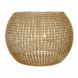 "Fish Bowl Embracer - Gold (Fits 8"" Fish Bowl)"
