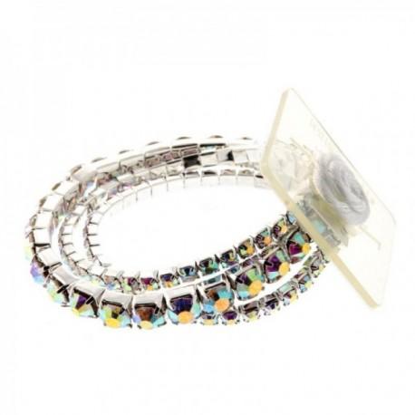 Fabulous Corsage Bracelet - Iridescent