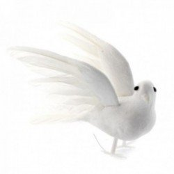 Flying Doves - White (12cm Long, 3pairs per pk)