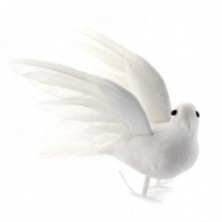 12cm Flying Doves - White (3pairs per pk)