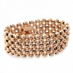 Narrow Classic Corsage Bracelet - Rose Gold
