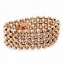 Narrow Classic Corsage Bracelet - Rose Gold