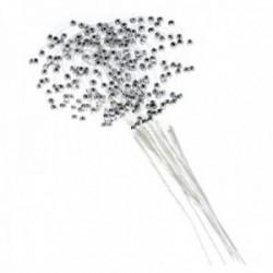 Pearl Loop - Silver (19cm Long, 12pcs per pk)