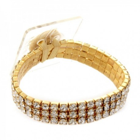 Princess Corsage Bracelet - Gold (2 bracelets per pk)