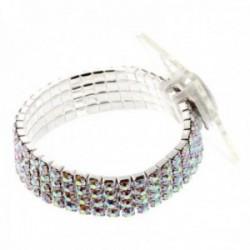 Rock Candy Corsage Bracelet - Iridescent