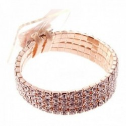Rock Candy Corsage Bracelet - Rose Gold