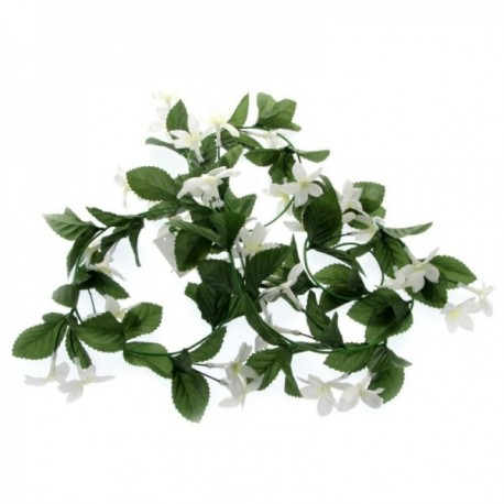 Stephanotis Garland - White & Green (175cm Long)