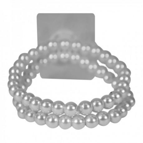 Sweet Pea Corsage Bracelet - White (2 bracelets per pk)