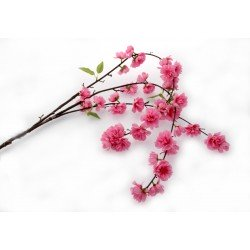 Large Cherry Blossom Spray - Dark Pink (95cm Long)
