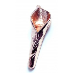 Calla Lily Buttonhole - Rose Gold