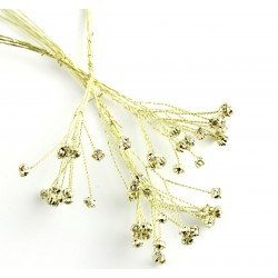 5mm Diamante Branch - Champagne (3bunches x 6 stems per bag)