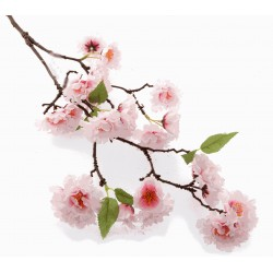 Small Cherry Blossom Spray - Light Pink (75cm Long)