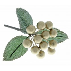 Berries - Gold (1cm diameter, 6 bunches per pk)