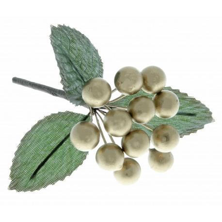 Berries - Gold (6 bunches per pk)