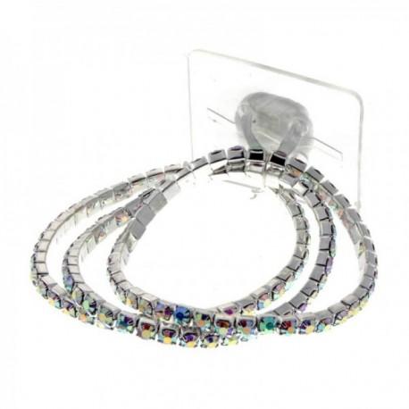 Dainty Kids Corsage Bracelet - Iridescent (6cm Diameter)