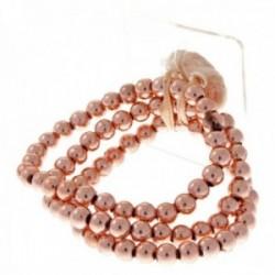 Delicate Kids Corsage Bracelet - Rose Gold (6cm Diameter)