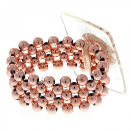 Little Lady Kids Corsage Bracelet - Rose Gold (6cm Diameter, 2pcs per pk)