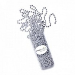 8mm Pearl Bead Chain - Silver (8mm x 10m)