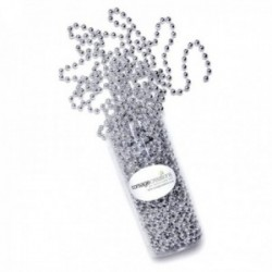14mm Pearl Bead Chain - Silver (14mm x 3m)