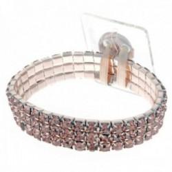 Princess Corsage Bracelet - Rose Gold (2pcs per pk)
