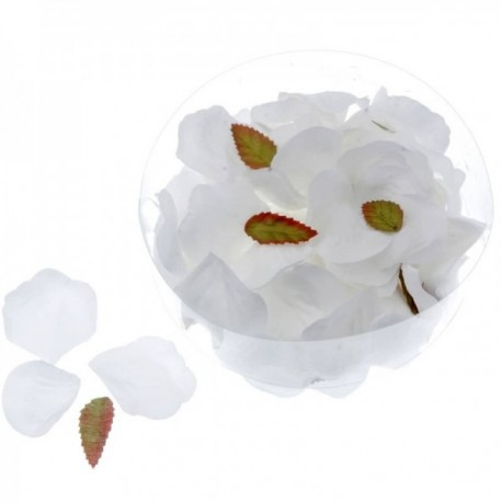 Rose Petals - White (164pcs per pk)