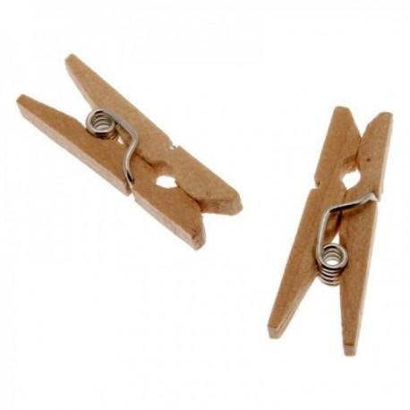 2.5cm Wooden Pegs (2.5cm Long, 100pcs per pk)