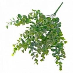 Plastic Eucalyptus Bush - Green & Grey (35cm long)