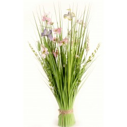 Meadow Flowers - Light Pink and Hot Pink (70cm Long)