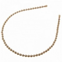 Pearl Headband - Ivory (12cm diameter, 6pcs per pk)