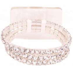 Dainty Kid's Corsage Bracelet - Silver (6cm diameter)