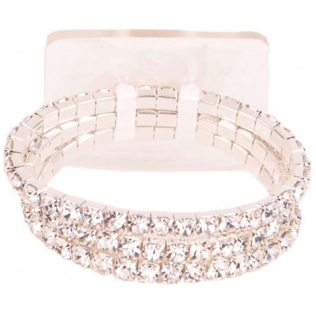 Dainty Flower Bracelet - Silver