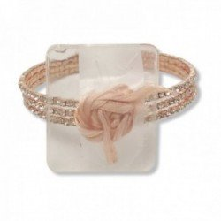 All That Jazz Corsage Bracelet - Rose Gold