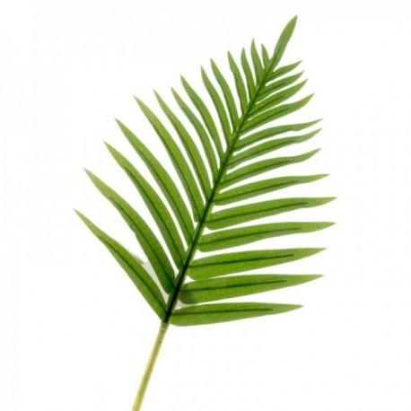 Real Touch Fern Palm Leaf - Green (65cm long)