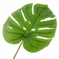 Real Touch Split Philo Leaf - Green (105cm long)