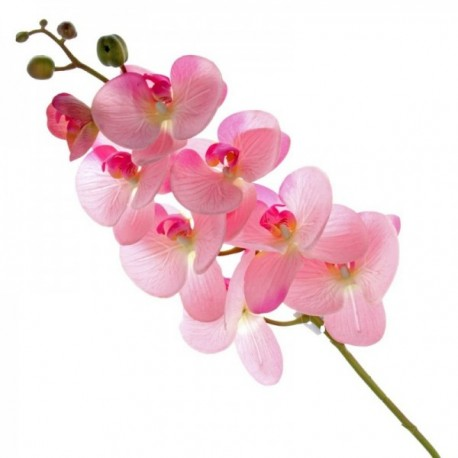 Real Touch Phalaenopsis Orchid - Pink (8heads, 99cm long)