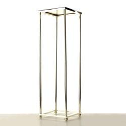 80cm Aurora Plinth - Silver (80cm tall, flat pack)