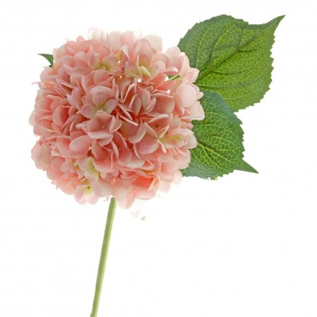 Single Hydrangea - Pink (19cm diameter, 82cm long)