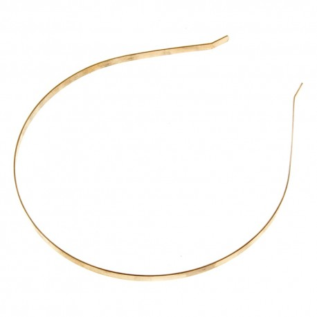 Metal Headband - Gold (12cm diameter, 12pcs per pk)