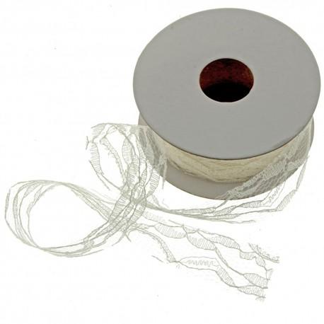 Lace Roll - Cream (5cm x 10m)