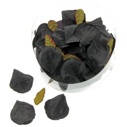 Rose Petal Box - Black (164pcs per pk)