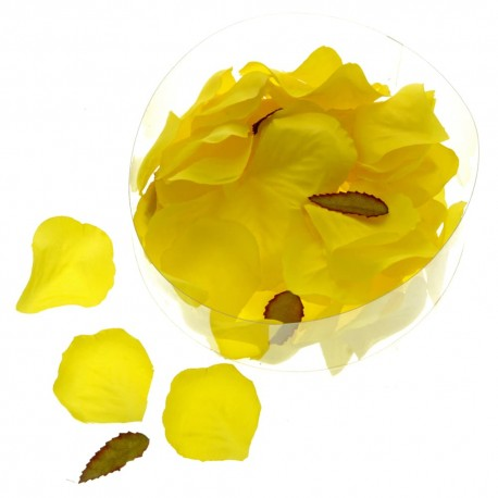 Rose Petal Box - Lemon Yellow (164pcs per pk)