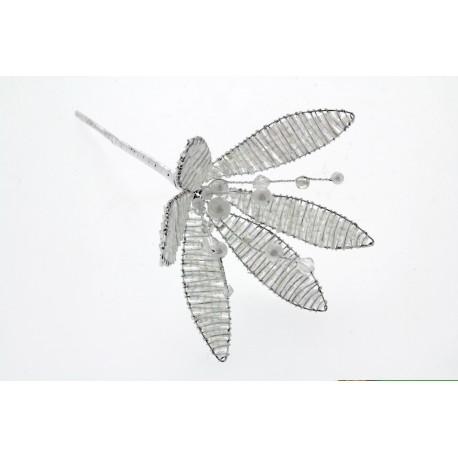 Crystal Flower - Iridescent (17.5cm Long)