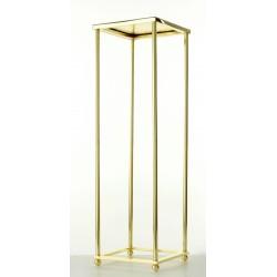 80cm Aurora Plinth - Gold (80cm tall, flat pack)