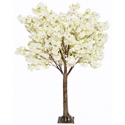 Cherry Blossom Tree - Cream (1.8m tall)