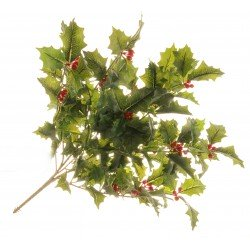 Holly Bush - Green (50cm long)