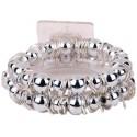 Gum Drop Corsage Bracelet - Silver